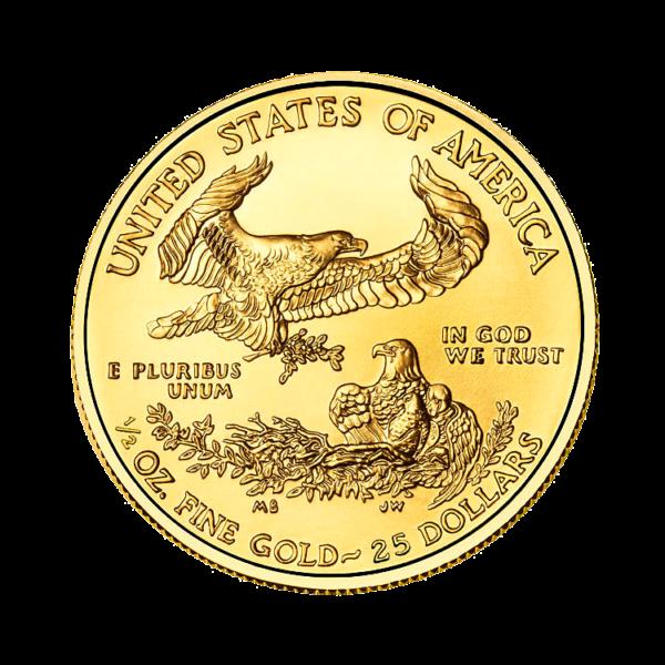 Aguila Americana de Oro- 1.2oz - posterior