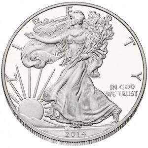 Águila Americana de Plata - Frente