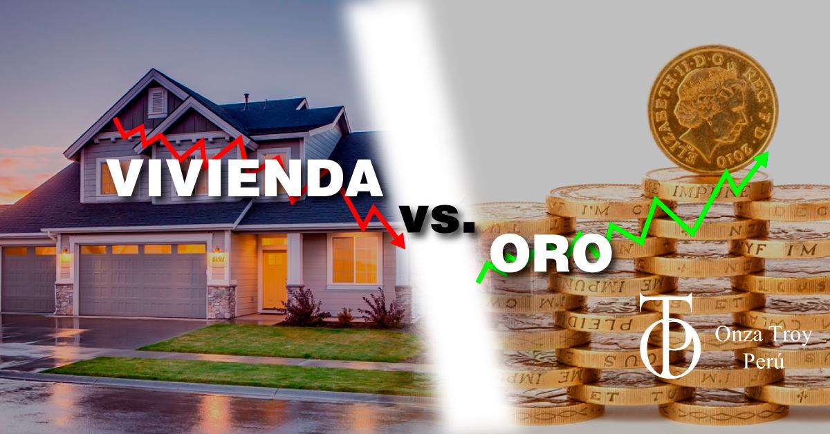 Vivienda vs Oro