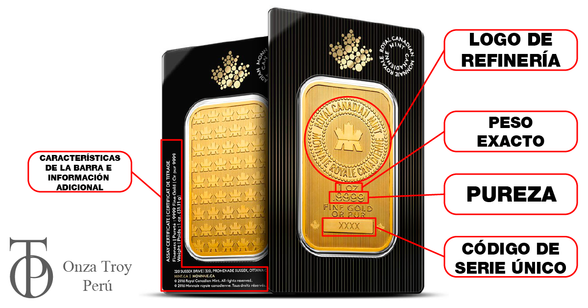 oro certificado en peru caracteristicas