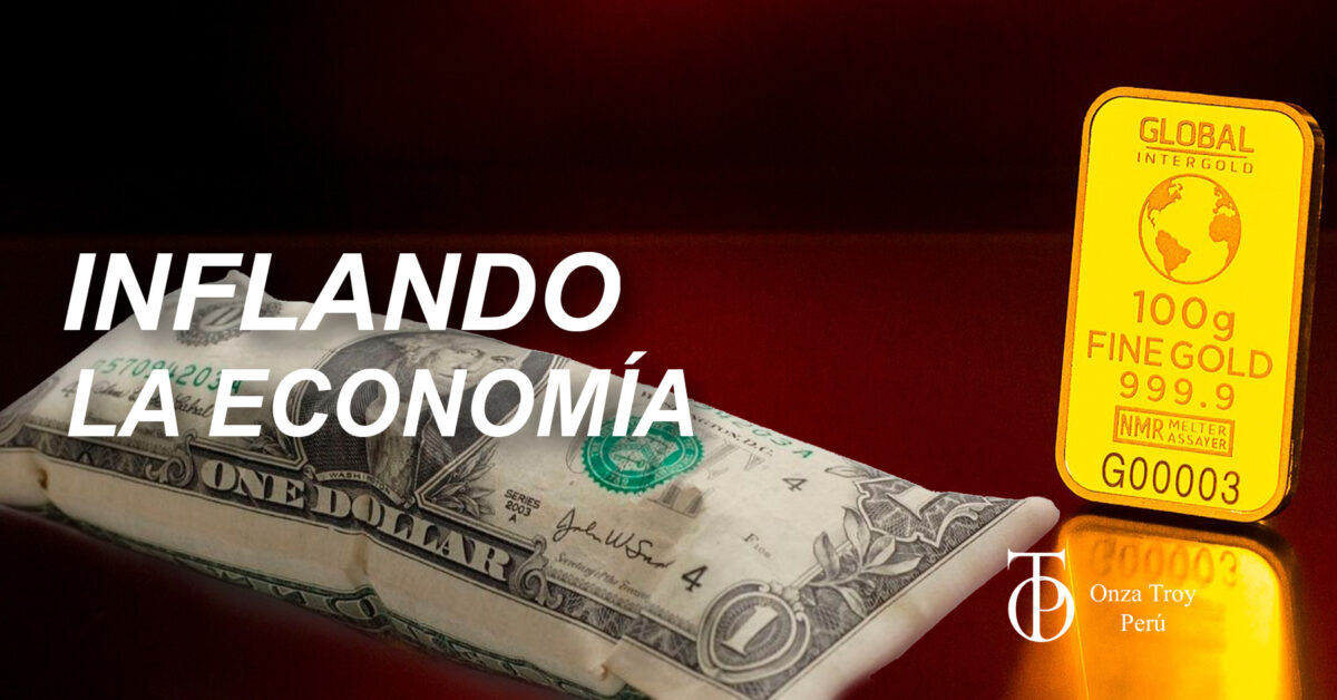 inflando la economia