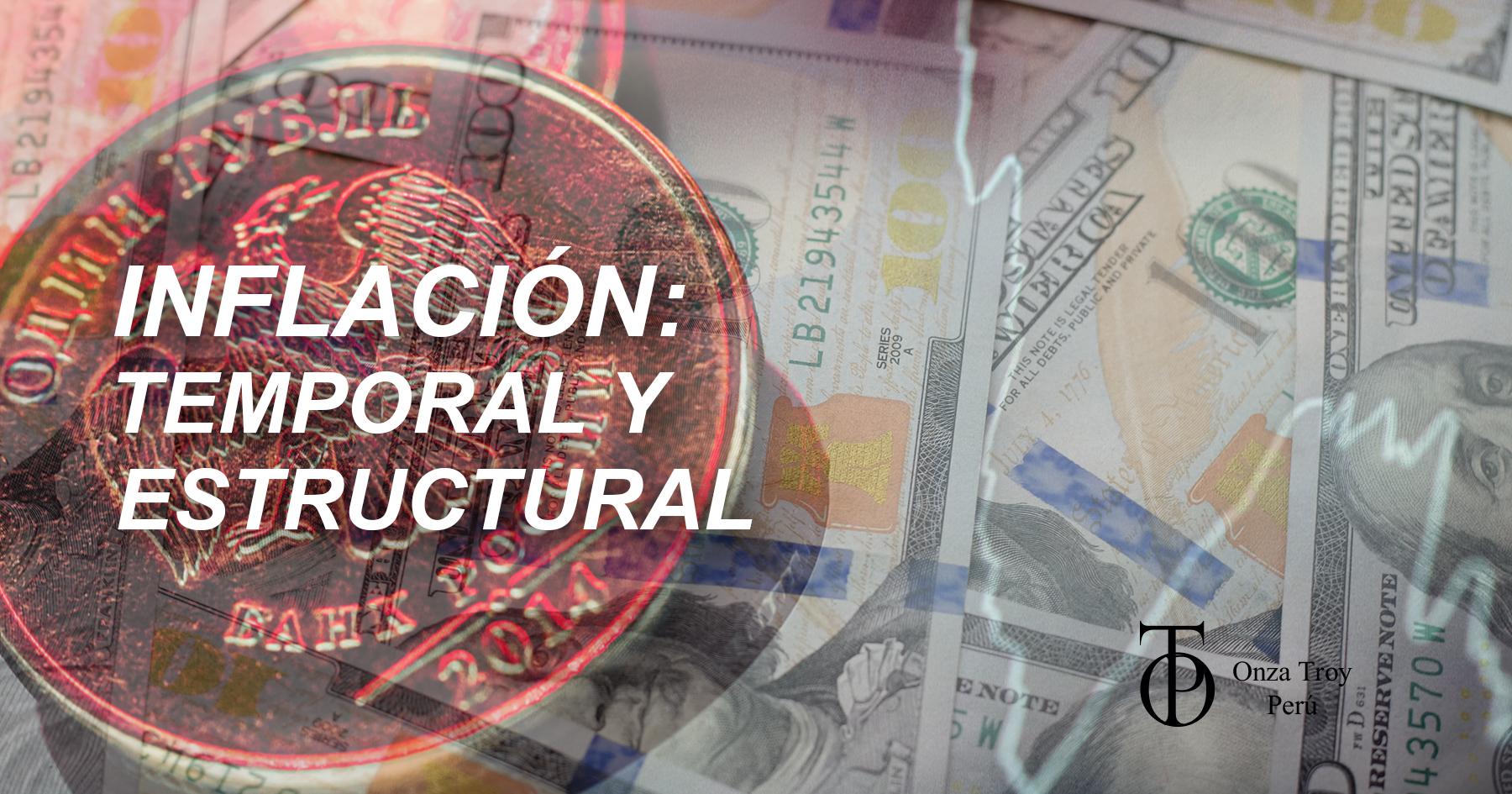 inflación temporal y estructural